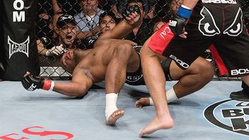 "Machida was a ""bad boy"" that night and Rashd simply woudnt stand for it"