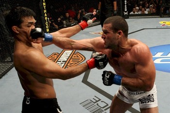 Machida is not used to getting beat to the punch, Shogun didnt get the memo