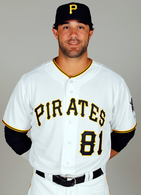 BRADENTON, FL - FEBRUARY 20:  Outfielder Andrew Lambo #81 of the Pittsburgh Pirates poses for a photo during photo day at Pirate City on February 20, 2011 in Bradenton, Florida.  (Photo by J. Meric/Getty Images)