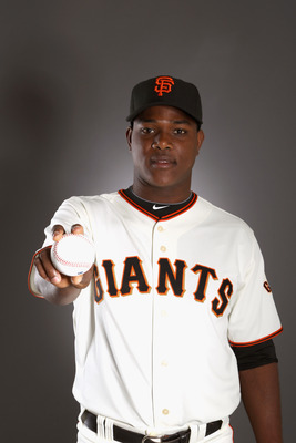 SCOTTSDALE, AZ - FEBRUARY 23:  Jose Casilla #85 of the San Francisco Giants poses for a portrait during media photo day at Scottsdale Stadium on February 23, 2011 in Scottsdale, Arizona.  (Photo by Ezra Shaw/Getty Images)