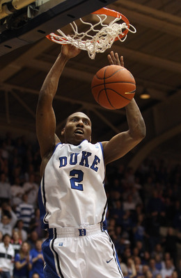 DURHAM, NC - FEBRUARY 09:  Nolan Smith #2 of the Duke Blue Devils against the North Carolina Tar Heels during their game at Cameron Indoor Stadium on February 9, 2011 in Durham, North Carolina.  (Photo by Streeter Lecka/Getty Images)