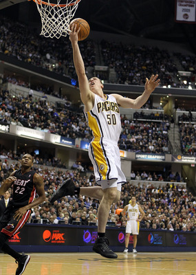 The Pacers are at least competitive this year, something Indiana fans aren't accustomed to.