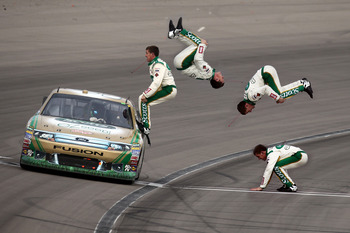 Another Carl Edwards flip in Las Vegas