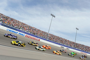 Marcos Ambrose qualified on the front row for Sundays Kobalt Tools 400.