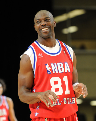 DALLAS - FEBRUARY 12:  NFL player Terrell Owens plays on the court during the NBA All-Star celebrity game presented by Final Fantasy XIII held at the Dallas Convention Center on February 12, 2010 in Dallas, Texas.  (Photo by Jason Merritt/Getty Images)