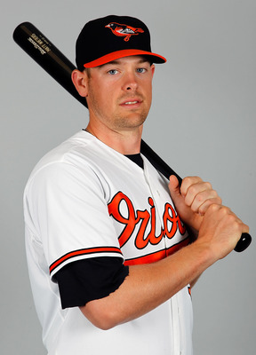 SARASOTA, FL - FEBRUARY 26:  Catcher Matt Wieters #32 of the Baltimore Orioles poses for a photo during photo day at Ed Smith Stadium on February 26, 2011 in Sarasota, Florida.  (Photo by J. Meric/Getty Images)