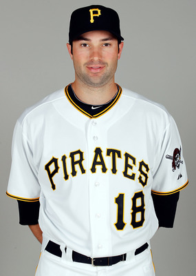 BRADENTON, FL - FEBRUARY 20:  Infielder Neil Walker #18 of the Pittsburgh Pirates poses for a photo during photo day at Pirate City on February 20, 2011 in Bradenton, Florida.  (Photo by J. Meric/Getty Images)
