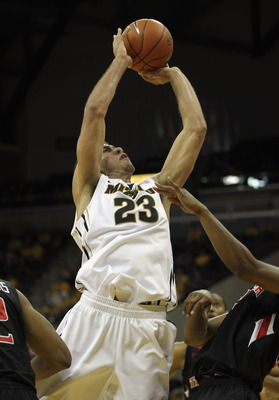 COLUMBIA, MO - FEBRUARY 15:  Justin Safford #23 of the Missouri Tigers shoots during the game against the Texas Tech Red Raiders on February 15, 2011 at Mizzou Arena in Columbia, Missouri.  (Photo by Jamie Squire/Getty Images)