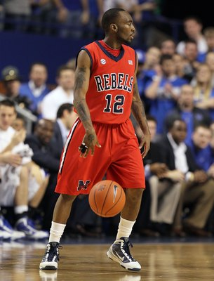 LEXINGTON, KY - FEBRUARY 02:  Chris Warren #12 of the Ole Miss Rebels dribbles during the SEC game against the Kentucky Wildcats on February 2, 2010 at Rupp Arena in Lexington, Kentucky.  (Photo by Andy Lyons/Getty Images)