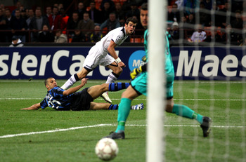 Bale scores in the San Siro