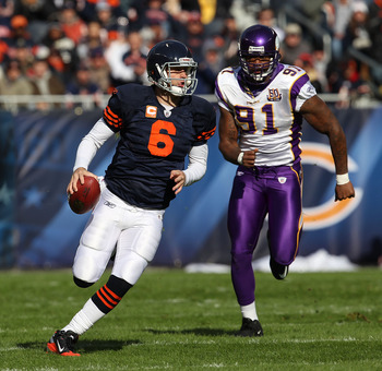 Ray Edwards, Running Down Jay Cutler