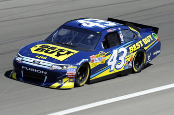 Allmendinger signed a long-term deal to drive the No. 43 in 2010.
