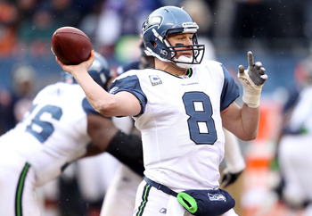 The playoff loss to Chicago could have been the last time we see Hasselbeck in a Seahawk jersey.