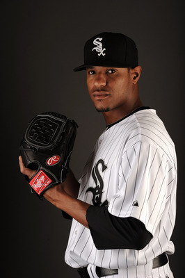 GLENDALE, AZ - FEBRUARY 26:  Edwin Jackson #33 of the Chicago White Sox poses for a photo on photo day at Camelback Ranch on February 26, 2011 in Glendale, Arizona.  (Photo by Harry How/Getty Images)