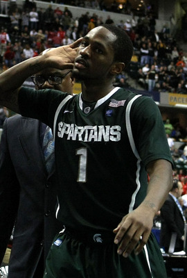 Kalin Lucas hears the NCAA selection committee calling
