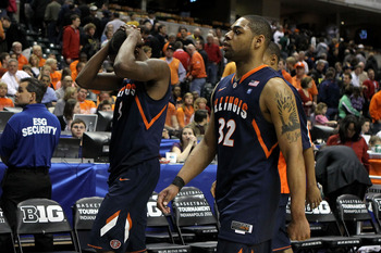 Demetri McCamey and the Illini have that bad feeling once again
