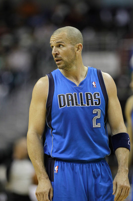 WASHINGTON, DC - FEBRUARY 26: Jason Kidd #2 of the Dallas Mavericks against the Washington Wizardsat the Verizon Center on February 26, 2011 in Washington, DC. NOTE TO USER: User expressly acknowledges and agrees that, by downloading and or using this Pho