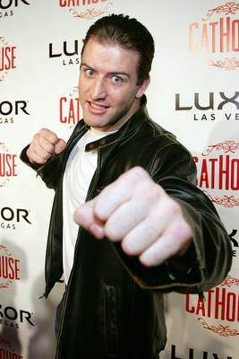 LAS VEGAS - DECEMBER 29: Mixed martial arts fighter Stephan Bonnar arrives at the grand opening of the CatHouse at the Luxor Resort & Casino December 29, 2007 in Las Vegas, Nevada. (Photo by Ethan Miller/Getty Images)
