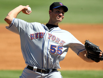 Chris Young is one of the few newcomers to the Mets in 2011.