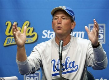 UCLA Head Coach Rick Neuheisel needs to get his new coaches to buy into his coaching philosophies.