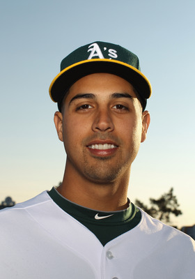 PHOENIX, AZ - FEBRUARY 24:  Gio Gonzalez #47 of the Oakland Athletics poses for a portrait during media photo day at Phoenix Municipal Stadium on February 24, 2011 in Phoenix, Arizona.  (Photo by Ezra Shaw/Getty Images)