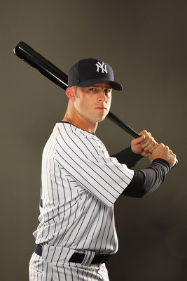 TAMPA, FL - FEBRUARY 23:  Brett Gardner #11 of the New York Yankees poses for a portrait on Photo Day at George M. Steinbrenner Field on February 23, 2011 in Tampa, Florida.  (Photo by Al Bello/Getty Images)