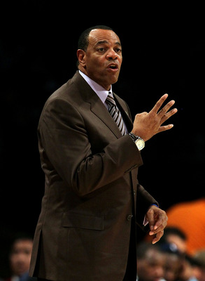 LOS ANGELES, CA - NOVEMBER 02:  Head coach Lionel Hollins of the Memphis Grizzlies watches the game against the Los Angeles Lakers at Staples Center on November 2, 2010 in Los Angeles, California. The Lakers defeated the Grizzlies 124-105. NOTE TO USER: U