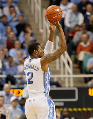 GREENSBORO, NC - DECEMBER 18:  Leslie McDonald #2 of the North Carolina Tar Heels against the Texas Longhorns at Greensboro Coliseum on December 18, 2010 in Greensboro, North Carolina.  (Photo by Kevin C. Cox/Getty Images)