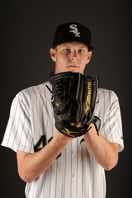 GLENDALE, AZ - FEBRUARY 26:  Chris Sale #49 of the Chicago White Sox poses for a photo on photo day at Camelback Ranch on February 26, 2011 in Glendale, Arizona.  (Photo by Harry How/Getty Images)