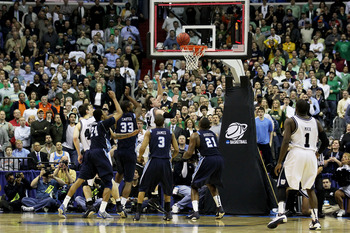 Matt Howard's buzzer beater was the difference in their opening round victory.