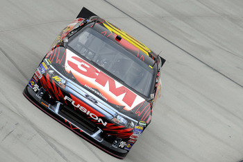 BRISTOL, TN - MARCH 18:  Greg Biffle drives the #16 3M Ford during practice for the NASCAR Sprint Cup Series Jeff Byrd 500 Presented By Food City at Bristol Motor Speedway on March 18, 2011 in Bristol, Tennessee.  (Photo by John Harrelson/Getty Images for