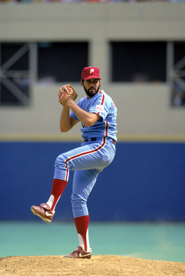 1987 Cy Young winner Steve Bedrosian, perhaps an unfair choice.