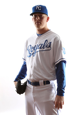 SURPRISE, AZ - FEBRUARY 23:  John Lamb # 66 of the Kansas City Royals poses for a portrait during Spring Training Media Day on February 23, 2011 at Surprise Stadium in Surprise, Arizona..  (Photo by Jonathan Ferrey/Getty Images)