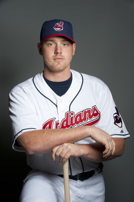 GOODYEAR, AZ - FEBRUARY 22: Nick Weglarz #71 of the Cleveland Indians poses during their photo day at the Cleveland Indians Spring Training Complex on February 22, 2011 in Goodyear, Arizona. (Photo by Rob Tringali/Getty Images)