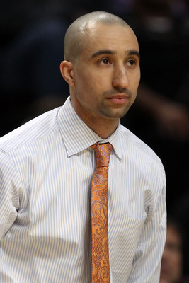 CHICAGO, IL - MARCH 20:  Head coach Shaka Smart of the Virginia Commonwealth Rams looks on in the first half of the game against the Purdue Boilermakers during the third round of the 2011 NCAA men's basketball tournament at the United Center on March 20,