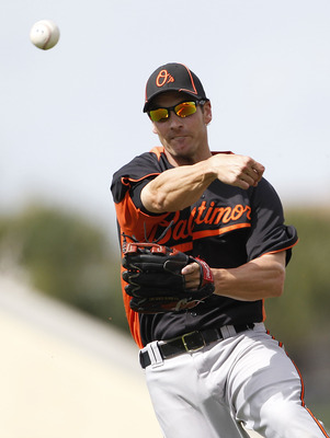 Nick Green is a non-roster invitee with the Baltimore Orioles