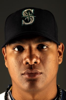 PEORIA, AZ - FEBRUARY 25:  Mauricio Robles of the Seattle Mariners poses during photo media day at the Mariners spring training complex on February 25, 2010 in Peoria, Arizona.  (Photo by Ezra Shaw/Getty Images)