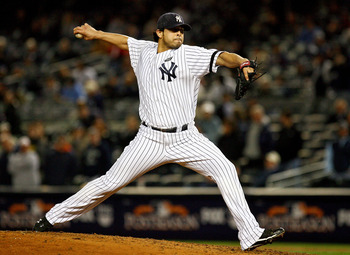 Sergio Mitre is in a deep battle to break camp with the New York Yankees in 2011