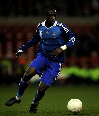 NOTTINGHAM, UNITED KINGDOM - MARCH 31:  Moussa Sissoko of France during the Friendly International match between England U21 and France U21 at the City Ground on March 31, 2009 in Nottingham, England.  (Photo by Shaun Botterill/Getty Images)
