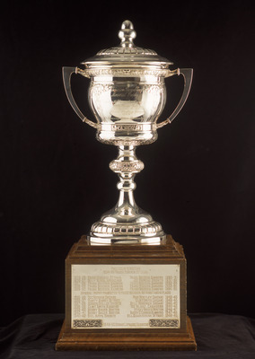 TORONTO - JANUARY 1:  The Lady Byng Memorial Trophy is presented yearly to the Player who Displays Gentlemanly Conduct by the National Hockey League as pictured on January 01, 2001.  (Photo by Silva Pecota /Getty Images/NHLI)