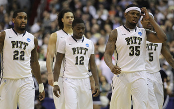 No. 1 seed Pitt couldn't believe its tourney run was over so soon.