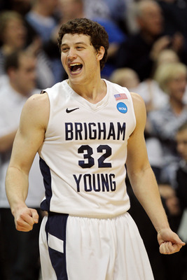 Jimmer Fredette has carried BYU on his back in the NCAA tournament.