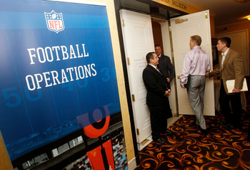 NEW ORLEANS, LA - MARCH 21:  Owners and Coachs attend the NFL Annual Meetings at the Roosevelt Hotel on March 21, 2011 in New Orleans, Louisiana. Despite a NFL owners imposed lockout in effect since March 12 the league is conducting its annual owners meet