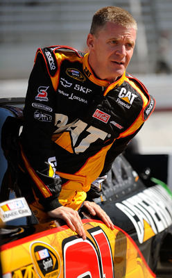A dissatisfied Jeff Burton at Bristol