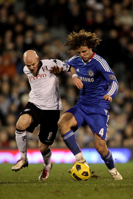 David Luiz on the ball