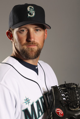 PEORIA, AZ - FEBRUARY 20:  Royce Ring #66 of the Seattle Mariners poses for a portrait at the Peoria Sports Complex on February 20, 2011 in Peoria, Arizona.  (Photo by Ezra Shaw/Getty Images)