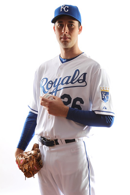 SURPRISE, AZ - FEBRUARY 23:  Jeff Francis #26 of the Kansas City Royals poses for a portrait during Spring Training Media Day on February 23, 2011 at Surprise Stadium in Surprise, Arizona..  (Photo by Jonathan Ferrey/Getty Images)