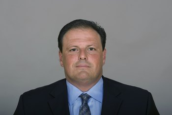 IRVING, TX - 2009:  Todd Grantham of the Dallas Cowboys poses for his 2009 NFL headshot at photo day in Irving, Texas. (Photo by NFL Photos)