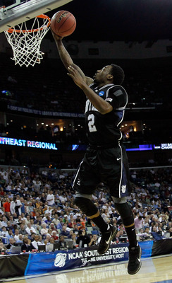 NEW ORLEANS, LA - MARCH 24:  Shawn Vanzant #2 of the Butler Bulldogs shoots against the Wisconsin Badgers during the Southeast regional of the 2011 NCAA men's basketball tournament at New Orleans Arena on March 24, 2011 in New Orleans, Louisiana.  (Photo
