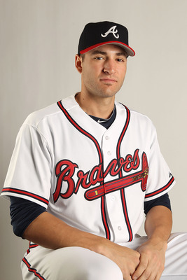 LAKE BUENA VISTA, FL - FEBRUARY 21: Brandon Beachy #37 of the Atlanta Braves during Photo Day at  Champion Stadium at ESPN Wide World of Sports of Complex on February 21, 2011 in Lake Buena Vista, Florida.  (Photo by Mike Ehrmann/Getty Images)